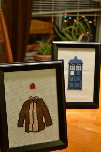 FO: Doctor Who X-Stitch