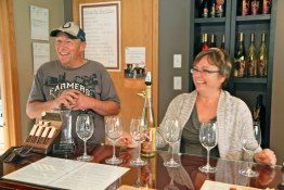Steve Venables and Kim Brind'Amour of the Similkameen's Forbidden Fruit Winery
