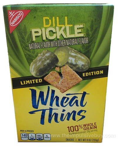 Nabisco Limited Edition Dill Pickle Wheat Thins