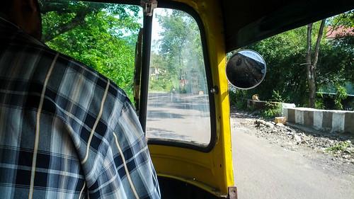 Autorickshaw ride to Kaas