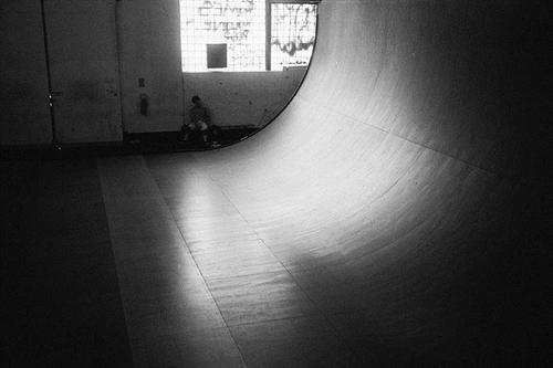 07-BW Quarter Skatepark