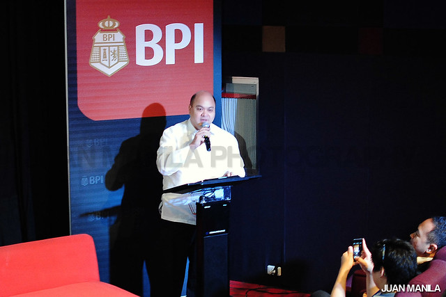 Carlo Gatuslao, BPI Vice President & Division Head, Channels Marketing & Sales Division, BPI Electronic Channels Group. (Photo by Juan Manila / JME)