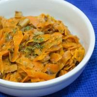 Carrot Carbonara