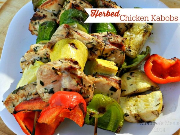 Herbed Chicken Kabobs (10)p