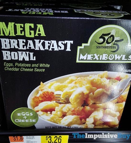 505 Southwestern Eggs + Cheese Mega Breakfast Bowl