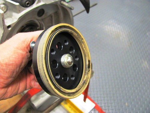 Puller with Old Oil Seal