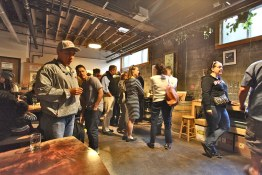 Foster's Craft Cooking Oyster Social at Upright Brewing