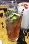 Turkish Apple and Rose Iced Tea