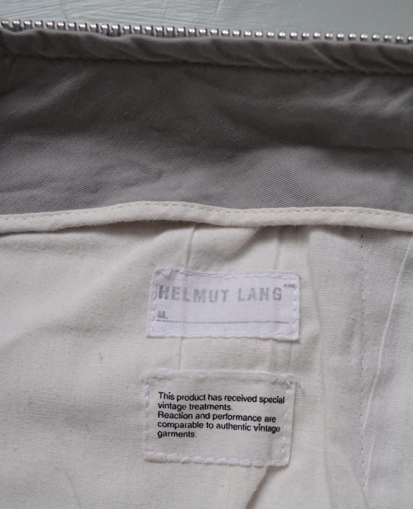 "Helmut Lang slim biker cargo trousers size 29"" waist Archival 5"
