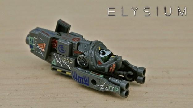 Elysium Smuggler Ship