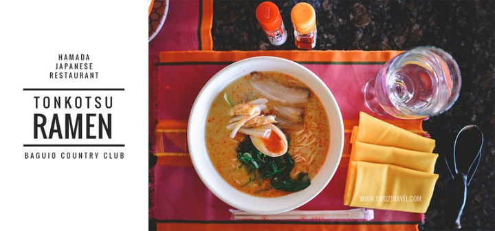 two2travel baguio country club ramen hamada japanese