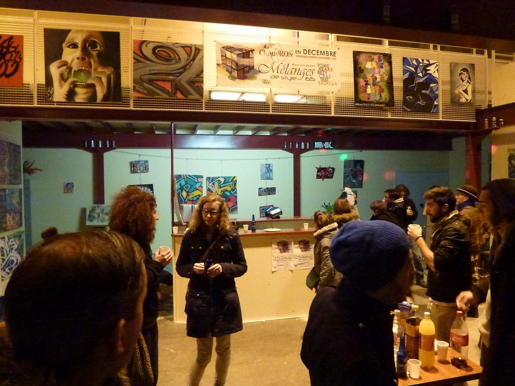 Expo graffiti Chaudron