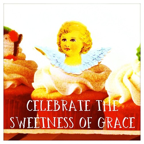 Celebrating #grace, no matter what. Sending you love today. XoS