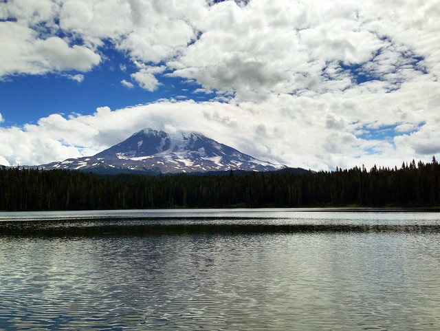 Mt Adams & Takhlakh Lake, Skamania County, Washington, August 2013