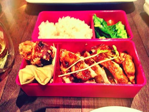 Mr Munchies Chicken Teriyaki Bento Set