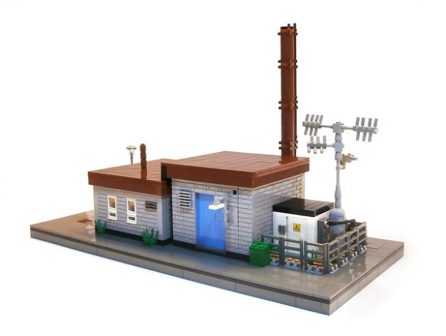 Small Power Plant and Office