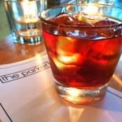 Flatbush - Alberta Premium Rye, Saltspring balckberry, Punt e Mes Saline    The Parker