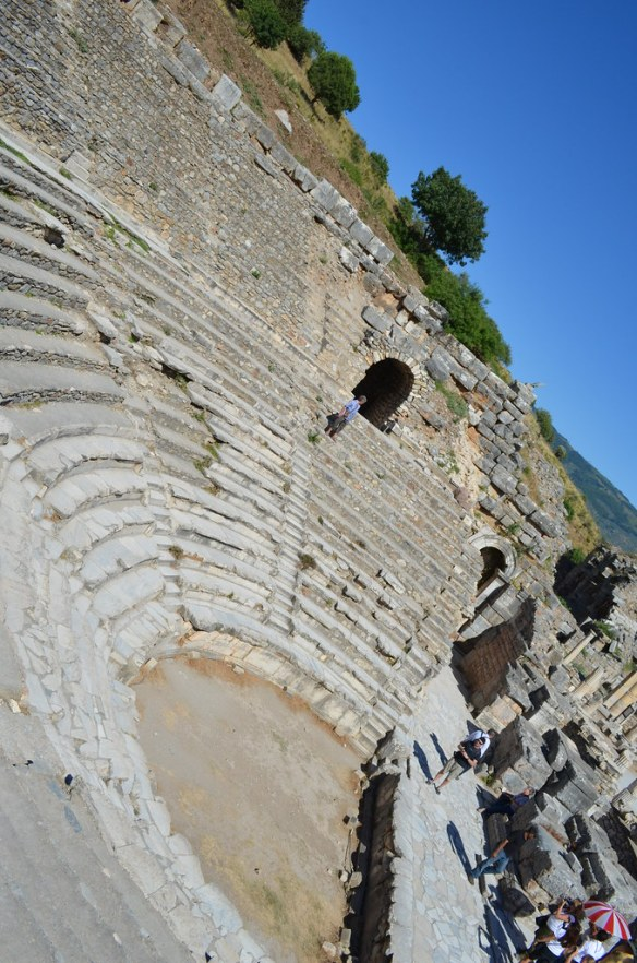 The Odeion of Ephesus, Turkey