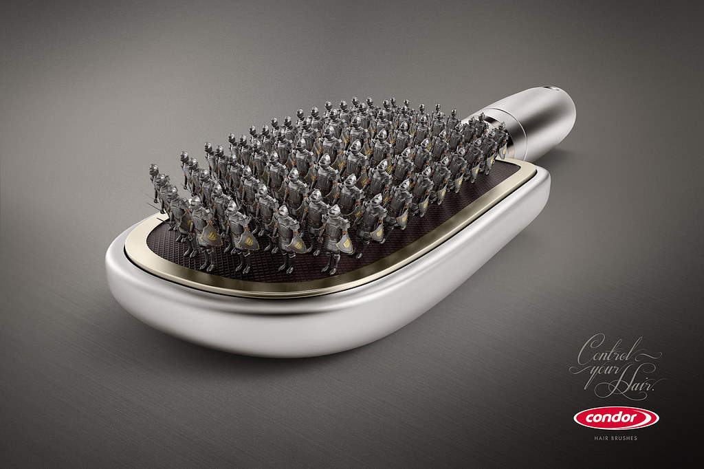 Condor Hair Brushes - Roman Soldiers