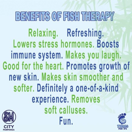 FISH THERAPY BENEFITS