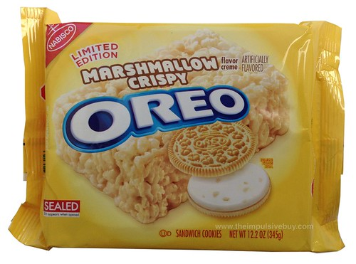 Nabisco Limited Edition Marshmallow Crispy Oreo Cookies