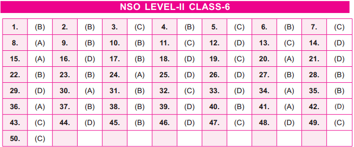 17th NSO 2014   2015 Answer Keys – Class 6 Image by AglaSem