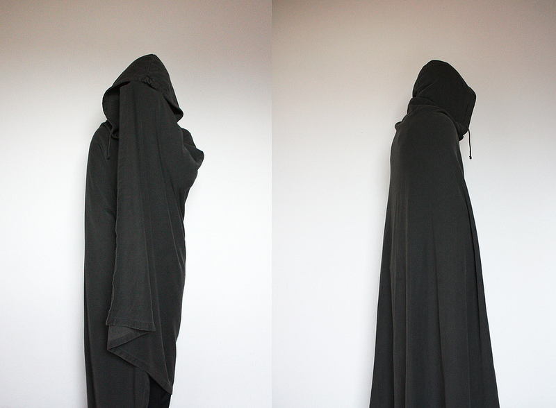 "Raf Simons ""Waves"" cloak : cape - AW04:05"