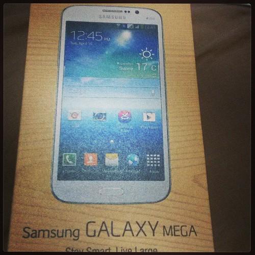 Samsung Mega giveaway