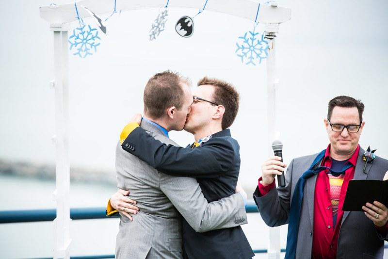 Batman VS. Mr. Freeze LGBT Wedding