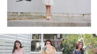 [穿搭] Honeymade。夏日來襲 平價柔軟的洋裝搭配