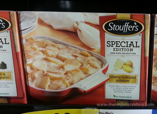 Stouffer's Special Edition Side Dish Collection Creamy Scalloped Potatoes