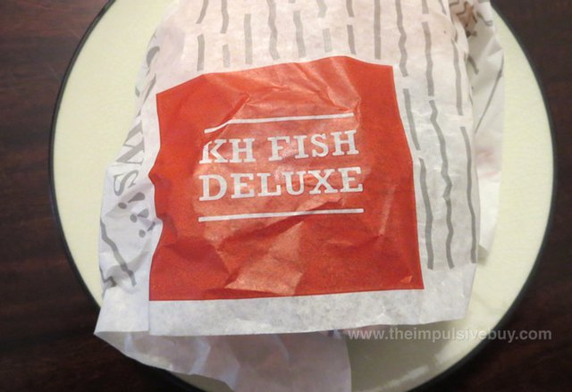 Arby's King's Hawaiian Fish Deluxe Sandwich