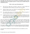 ISC Class 12 Home Science Sample Paper 2 Planning Session