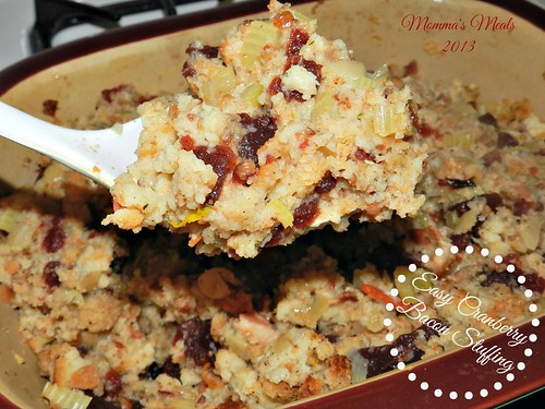 Cranberry Bacon Stuffing (11)
