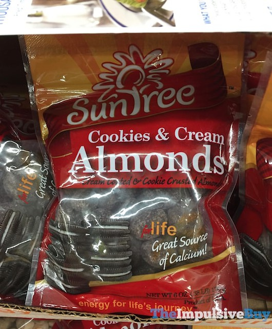 Suntree Cookies & Cream Almonds