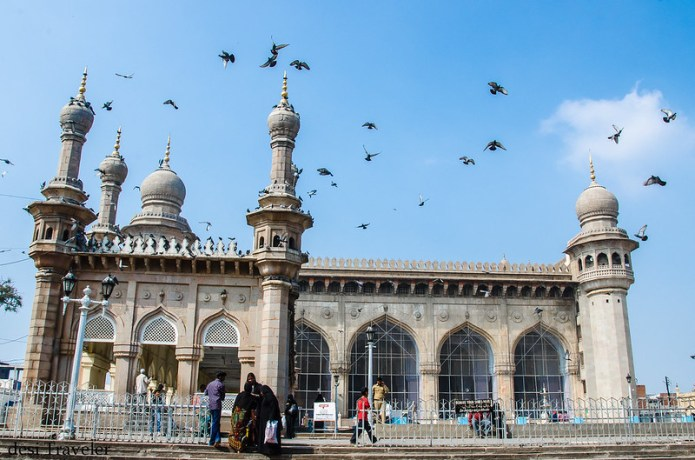Mecca Masjid Hyderabad India - Travel Blog