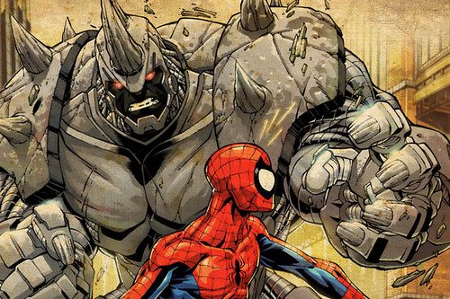 Rhino: El Villano Rinoceronte de Spiderman