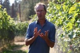 Theo Siemens, Vineyard Manager at Okanagan Crush Pad