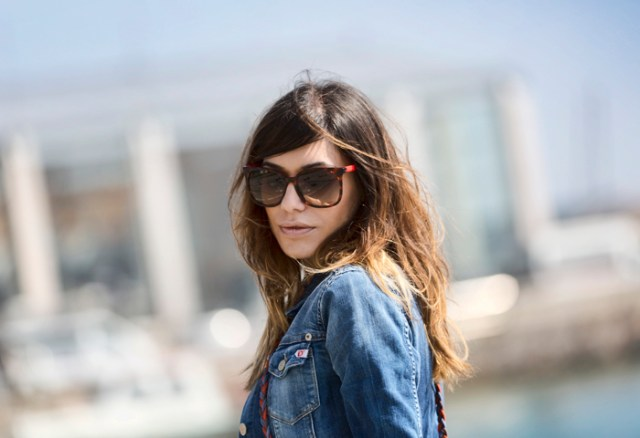 street style santander barbara crespo i bloody love you tshirt denim fashion blogger outfit blog de moda