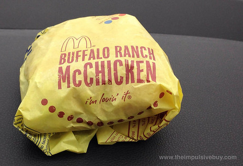 McDonald's Buffalo Ranch McChicken 1
