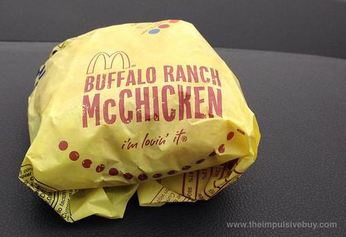 McDonald's Buffalo Ranch McChicken 1