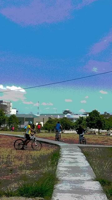 UP biking