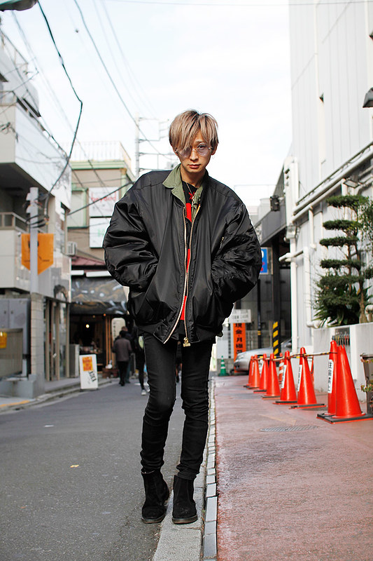 Drop Tokyo Street Style - Area- Harajuku,Tokyo | 原宿,東京 Name- Kazutoshi Masuda | 増田一寿