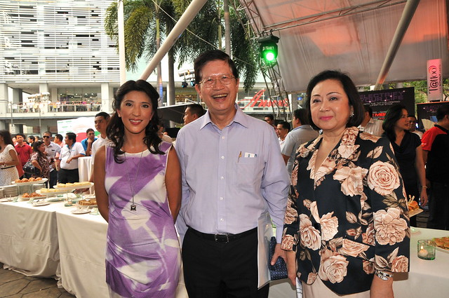 Crickette Tantoco, Tony Aquino (President and CEO,  Ayala Land), Zenaida Tantoco (President, Rustan Commercial Corporation)