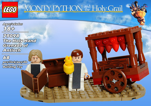 LEGO 79098: The Holy Hand Grenade of Antioch