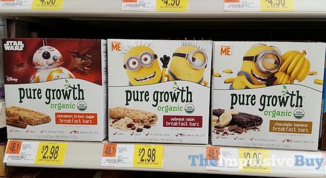 Pure Growth Breakfast Bars