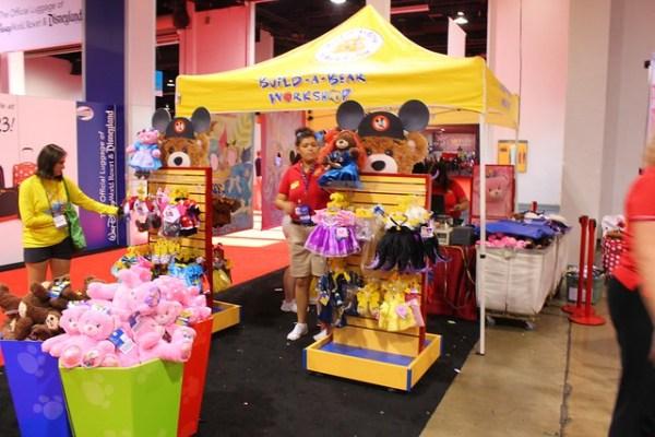 2013 D23 Expo Disney convention show floor