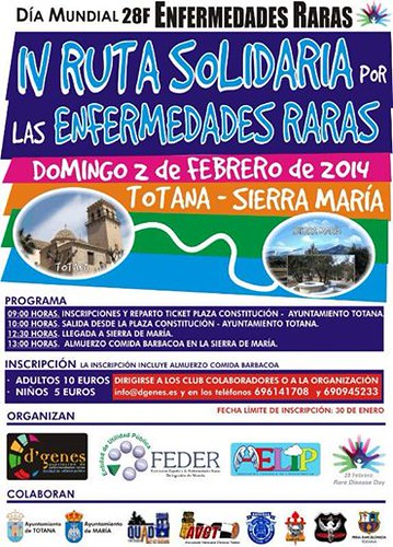 IV Ruta Solidaria por las Enfermedades Raras - Totana