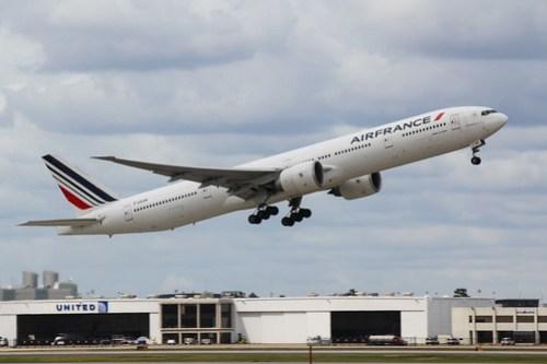 Air France Departure at IAH