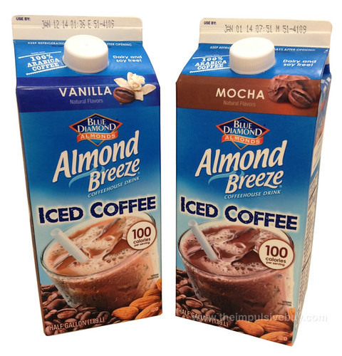 Blue Diamond Almond Breeze Iced Coffee (Vanilla and Mocha)